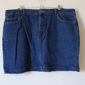 Forever 21 Plus Size Denim Skirt